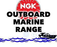 NEW NGK SPARK PLUG For Marine Outboard Engine EVINRUDE 15hp 74-->76