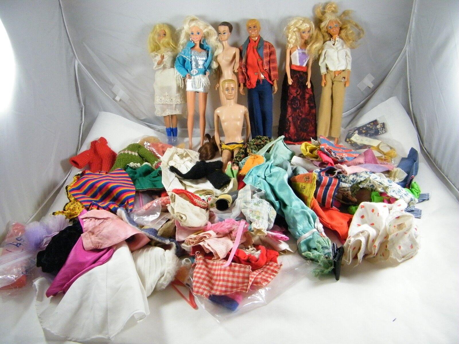 Antiguo  muñecas Barbie y ropa  Plus Ken Gi Joe