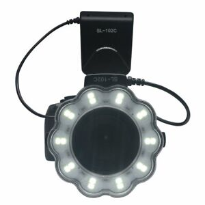 Ring-Light-Macro-Led-Flash-for-Sony-Alpha-Nex-A6300-a6000-A7-A7R-ii-55-49-62mm