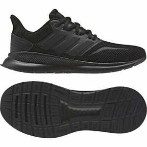 Adidas-juniors-Run-FALCON-Baskets-Noir