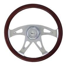 "18"" 4 Spoke ""Ace"" Steering Wheel 3-Hole for Freightliner, Peterbilt,KW + more!"