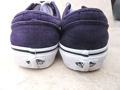 Vans Authentic formadores Lona Casual Plimsoll Zapatos Uk 6 Eur 39