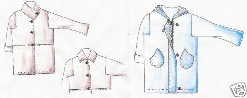 pompei xl 52-56 Motifs de coupe superposé manteau Dubaï