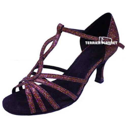 TPS Latin Ballroom Salsa Custom-made Dance Shoes D629