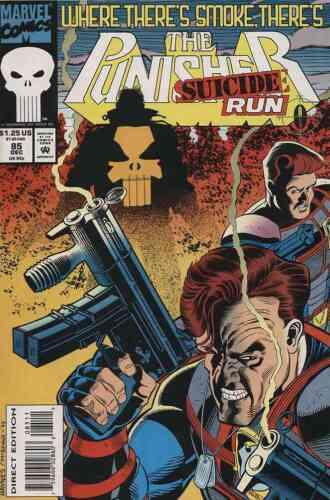 PUNISHER #85 NEAR MINT 1993 MARVEL COMICS