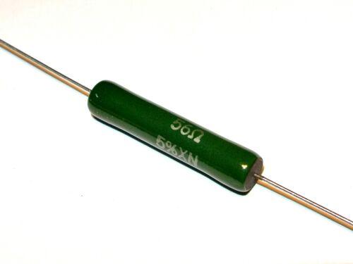 QTY=1pcs 56R 8W 5/% RWM VISHAY Enamelled Wirewound Resistor RWM063456R0JS09E1
