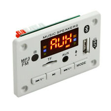 Microphone Handsfree 12v Bluetooth Mp3 Decoding Board Tf Card Slot Usbfm
