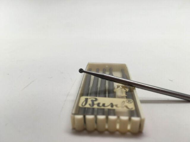 BUSCH 414 JEWELLERS BURR FRAIZER STONE SETTING 3.3mm DIAMETER HEAD