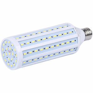 150W-Equivalent-LED-Bulb-120-Chip-Corn-Light-E26-2600lm-24W-Cool-Daylight-6000K