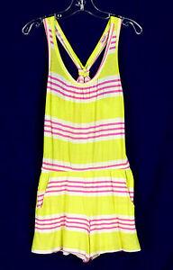 024f6a116be7 Image is loading 301-Splendid-Anthropologie-girl-romper-jumpsuit-striped- racerback-