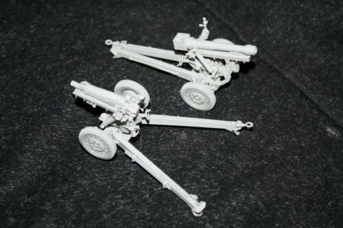 1//35 Commanders 1063 US 105mm Howitzer on Carriage M3 Complete Resin Model Kit