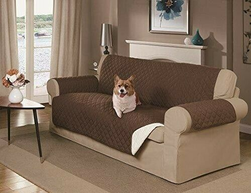 Reversible Washable Couch Cover 3 seater