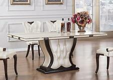 American Eagle   DT-H35 Ivory Marble Top Dining Table
