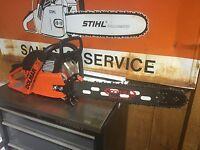 Dolmar 6100 Chainsaw Brand-new 20 Total Super Bar 2.3 Ported Muffler ?