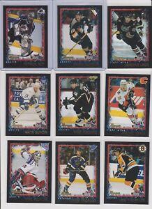 2001-02-Bowman-Youngstars-Hockey-U-pick-NM-you-pick-stars-RC-Rookie-insert-HOF