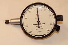 New Brown Amp Sharpe Usa 599 8221 530 One Revolution Dial Indicator 0005 No1b1