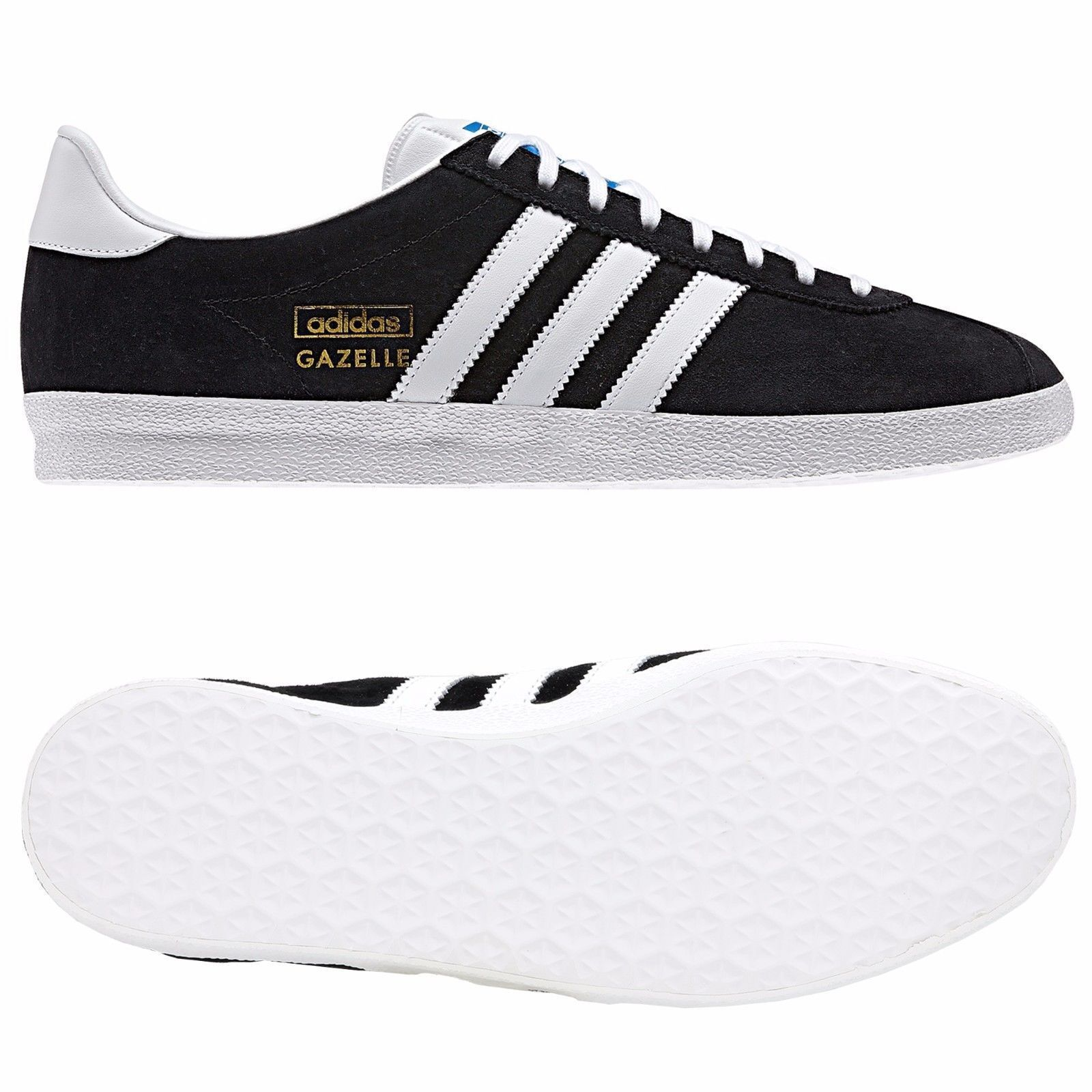 Adidas New Men's Gazelle OG Originals Suede Leather Trainers Shoes ...