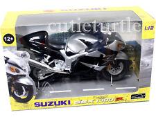 Automaxx 600203 Suzuki GSX 1300R Hayabusa Bike Motorcycle 1:12 Silver black
