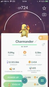 Pokémon Go Shiny Charmander