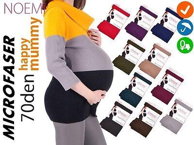 Warme und bequeme UMSTANDSSTRUMPFHOSE BLICKDICHT 70 Schwangerschaft Strumpfhose