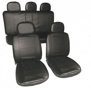 FRONT GREY HEAVY DUTY PAIR CAR SEAT COVER SET 02-05 SEAT LEON