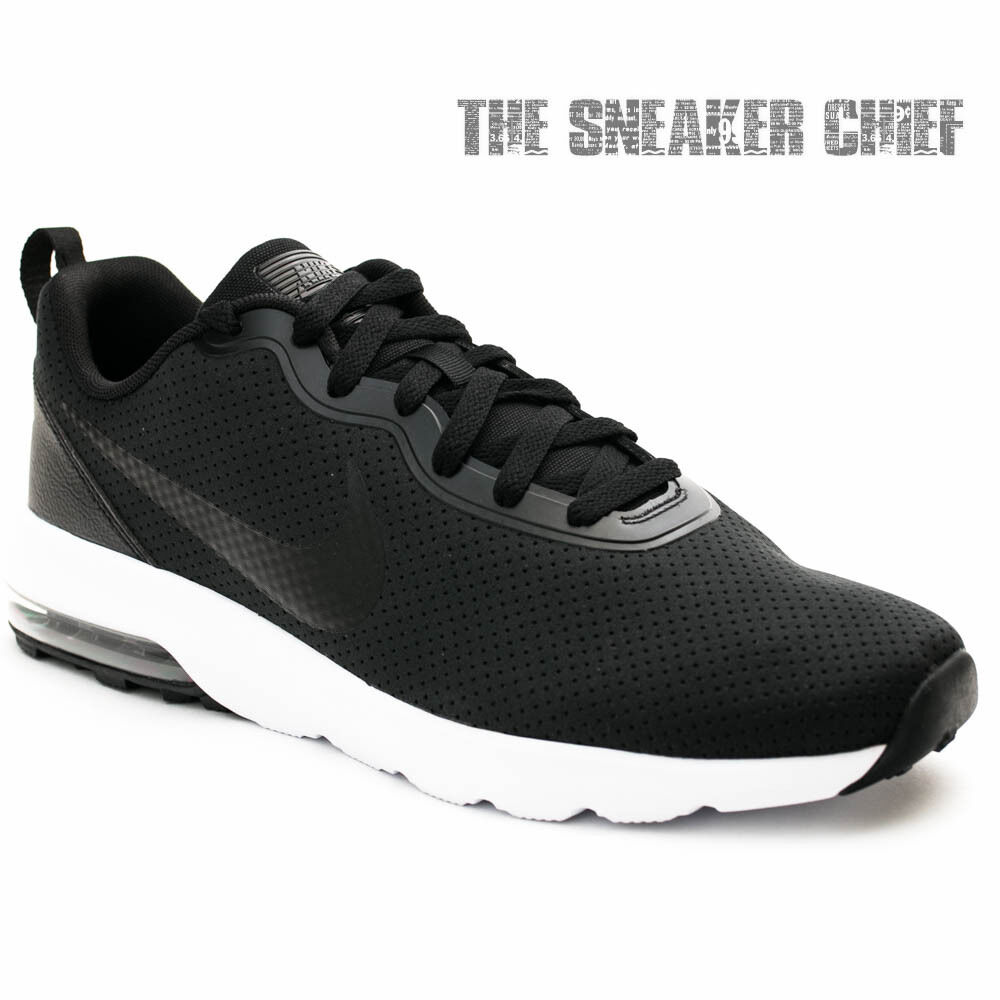 NIKE AIR MAX TURBULENCE MENS COMFORT RUNNING SHOES BLACK WHITE 827177 001