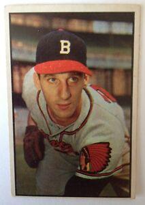 Details About 1953 Bowman Baseball Card 99 Warren Spahn