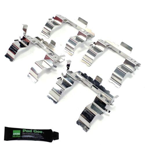 Plaquettes frein avant kit de montage cales FITS SUBARU OUTBACK 2009-15 3.6 BRF BPF0020D