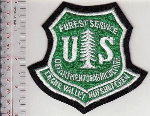 Hot Shot Wildland Fire Crew USFS California Crane Valley Hotshots Sierra Nationa