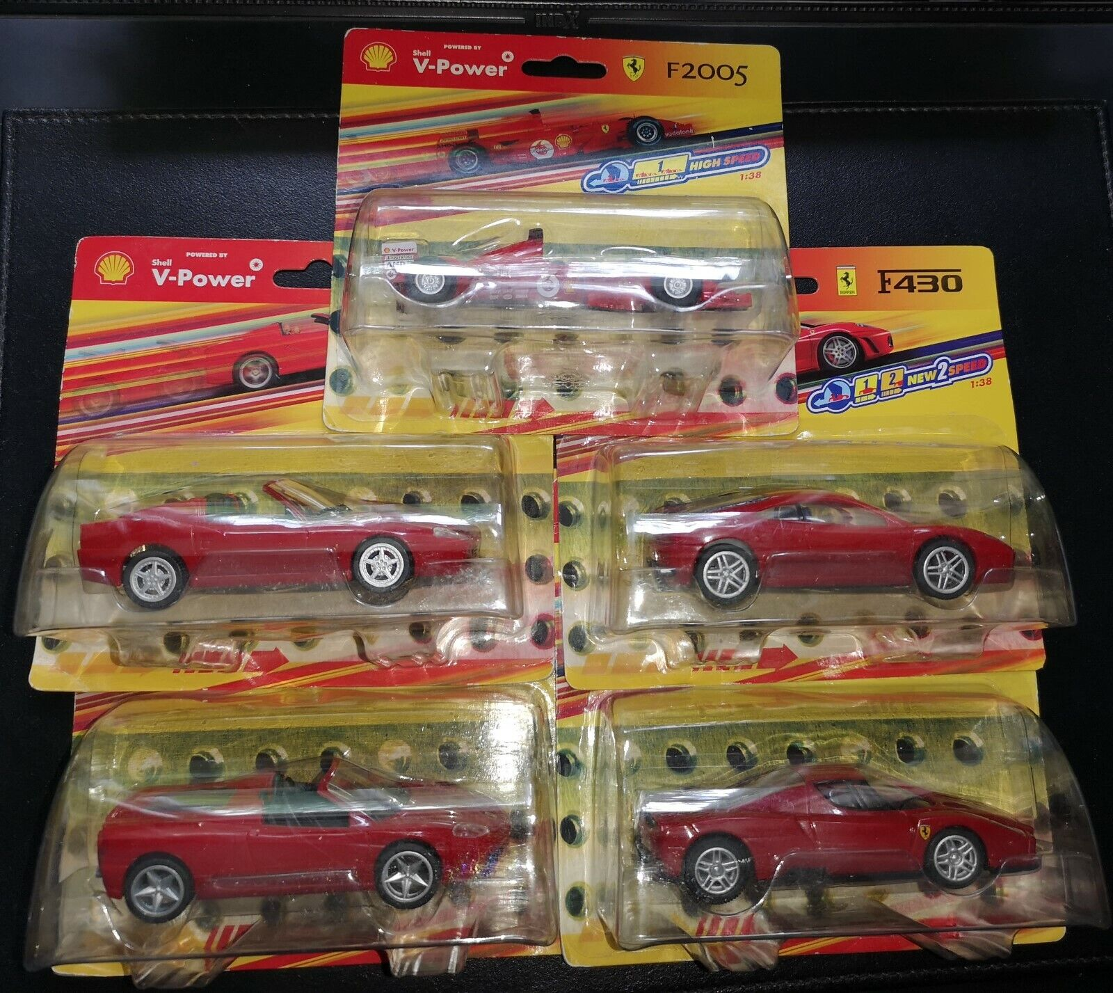 5 Ferrari Red Models Officially Licenced