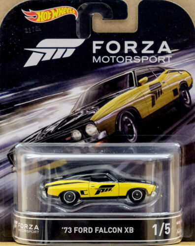 1973 Ford Falcon XB Forza XBOX 1:64 Hot Wheels Retro Entertainment DJF43