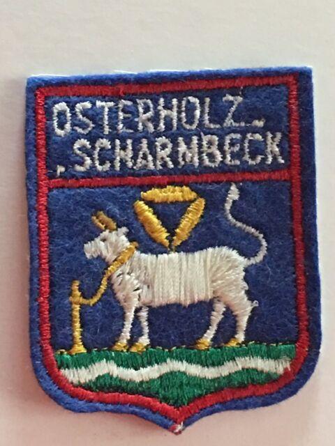 Toller Aufnäher Patch > OSTERHOLZ SCHARMBECK <
