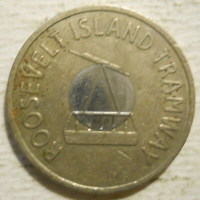 transit token Roosevelt Island Tramway New York NY630BH