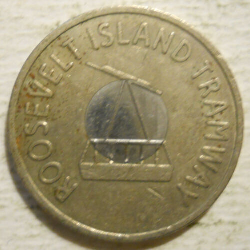 Roosevelt Island Tramway transit token New York NY630BH