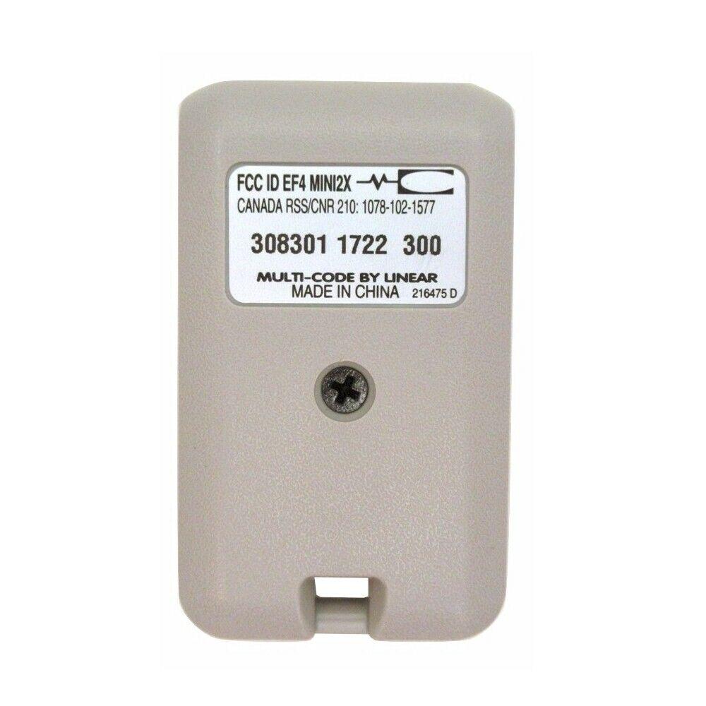 Multi-Code 3083 2-Button Keychain Garage Gate Remote Control 308301 MCS308301