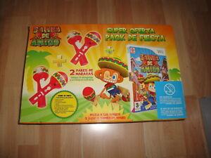 SAMBA-DE-AMIGO-PARA-LA-NINTENDO-Wii-2-PARES-DE-MARACAS-NUEVO-A-ESTRENAR