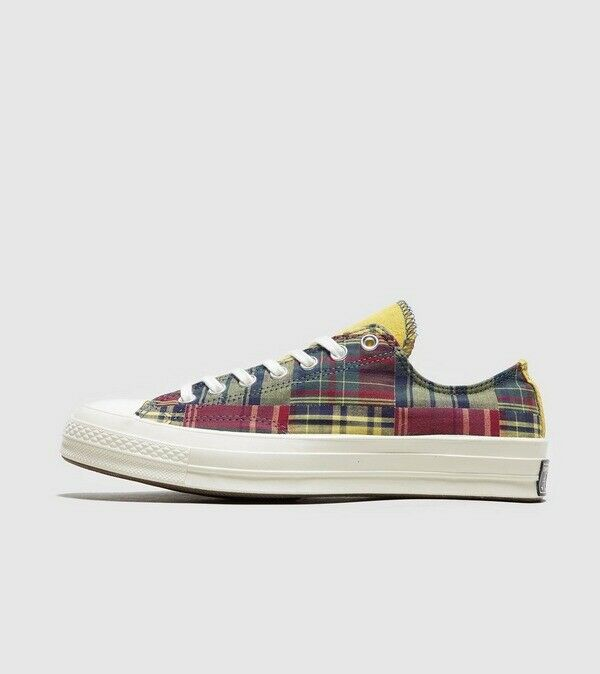 NEW MENS WOMENS CONVERSE CHUCK TAYLOR ALL STAR 70s OX TWISTED PREP - UK 6