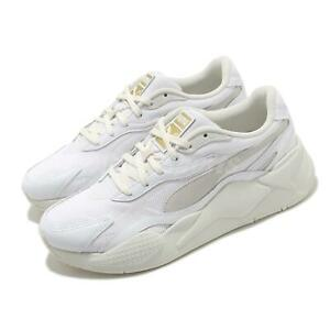 Puma RS-X3 Luxe White Beige Men Chunky Casual Lifestyle Sneakers Shoes 374293-01