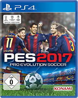 Pro Evolution Soccer 2017 (Sony PlayStation 4, 2016) PES 2017 PS4
