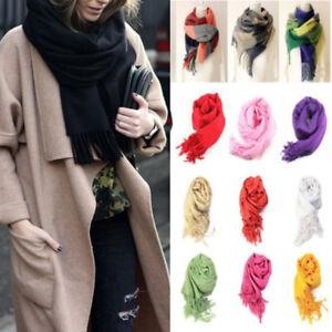 Women-Long-Cashmere-Scarf-Warm-Solid-Winter-Pashmina-Shawl-Wrap-Scarves-Tassel