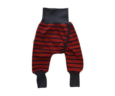 IOBIO Pants ORGANIC COTTON newborn baby diaper longies elimination communication