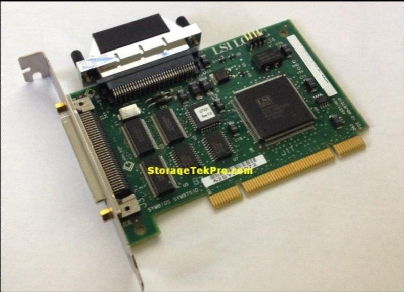 LSI LSI8751D SYM8751D HVD SCSI Card with Terminator USA Seller