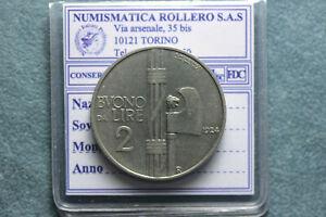 *161* Regno D'italia Vittorio Emanuele Iii Buono Da 2 Lire 1924 Bb/spl Avoir Une Longue Position Historique