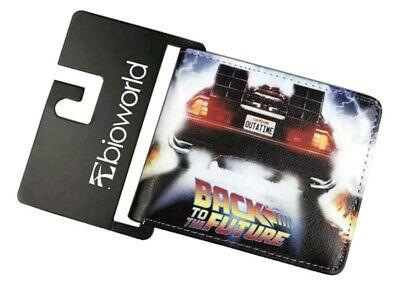 DeLorean Retour à The Future deux volets porte-fenêtre d/'identifiant de 2 slot Outatime J Fox