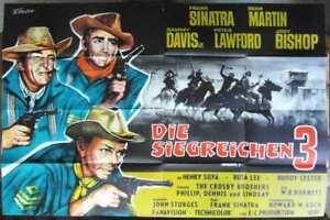 Filmplakat-Die-siegreichen-Drei-Rat-Pack-Sinatra-Martin-Davis-1962-A0