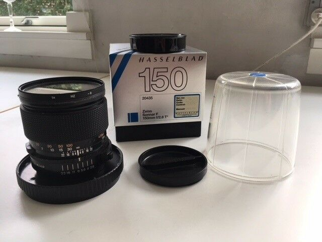 Hasselblad, Zeiss Sonnar F 150 mm. f/2.8T*