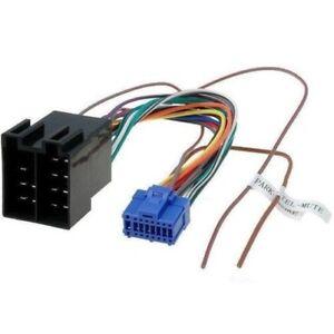 Cable Iso for Head Unit Pioneer Avh-P5400dvd Avh-P5700dvd Avh