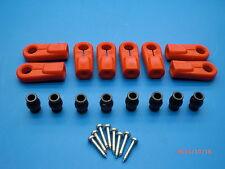 Original Lauterbacher Kugelpfannen-Set rot für Gewinde M6/M8 für RC-Cars 1/5 1/6