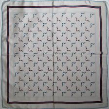 -Superbe Foulard  GUCCI   100% soie  TBEG  vintage scarf  87 x 90 cm