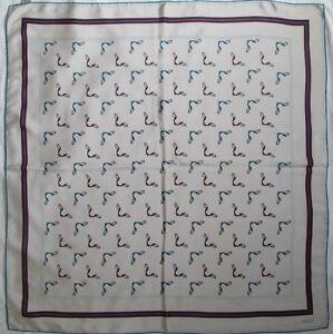 Superbe Foulard GUCCI 100% soie TBEG vintage scarf 87 x 90 cm   eBay 8cbd5b4bcf8